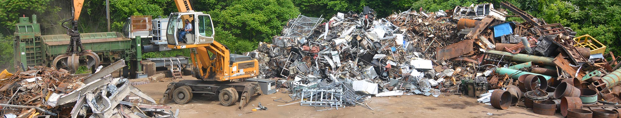Cash for scrap metal recycling services in Fairmont, WV